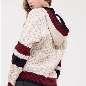 J.O.A. Varsity Knit